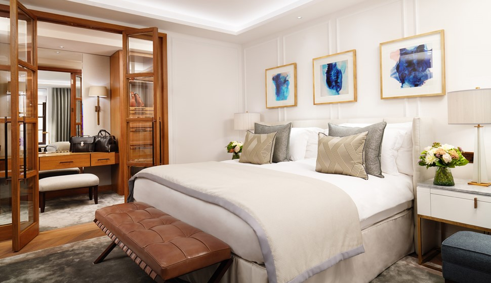 Corinthia London Suite bedroom
