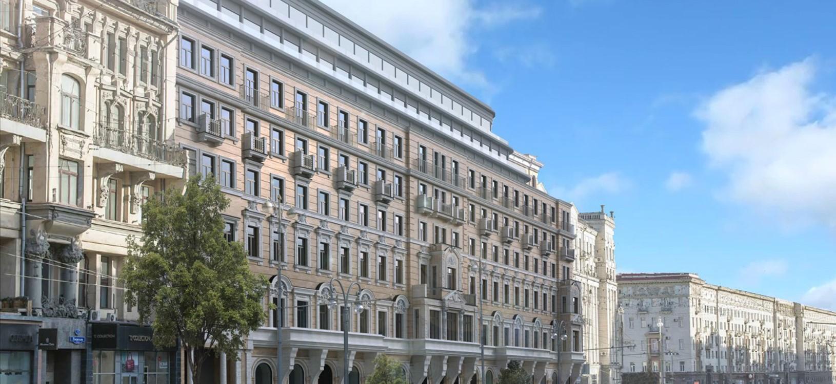 corinthia moscow facade