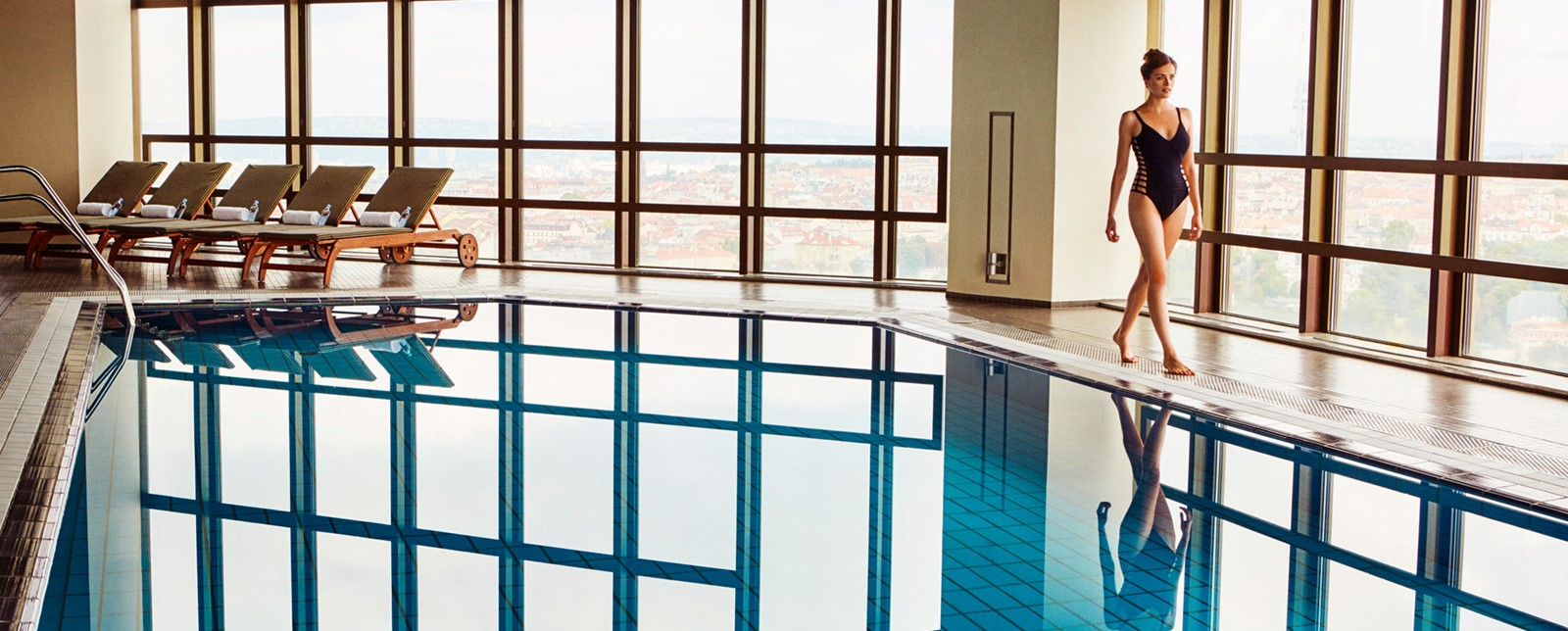 Corinthia Prague Spa swimmer