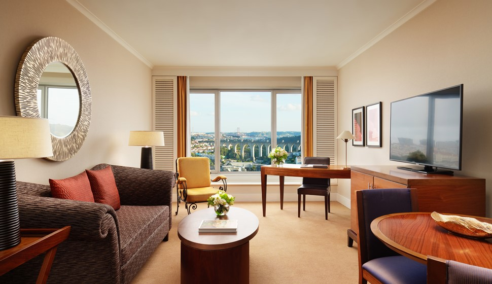 Corinthia Lisbon Executive Junior suite living room