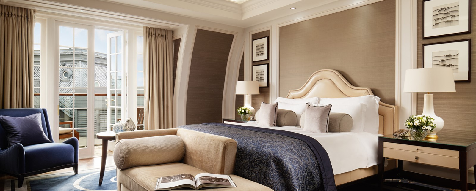 corinthia london musicians penthouse bedroom