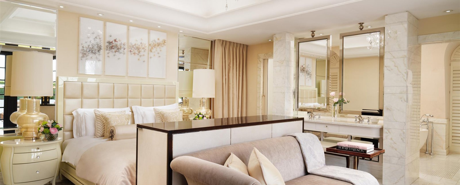 corinthia london hamilton penthouse bedroom