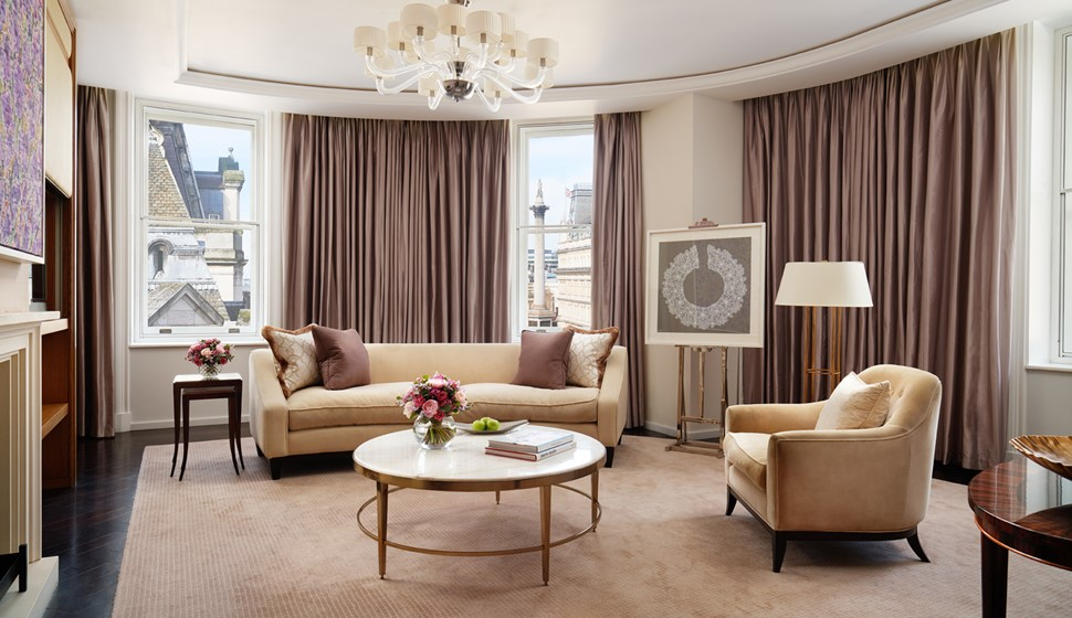 Corinthia London Trafalar Suite Living Room