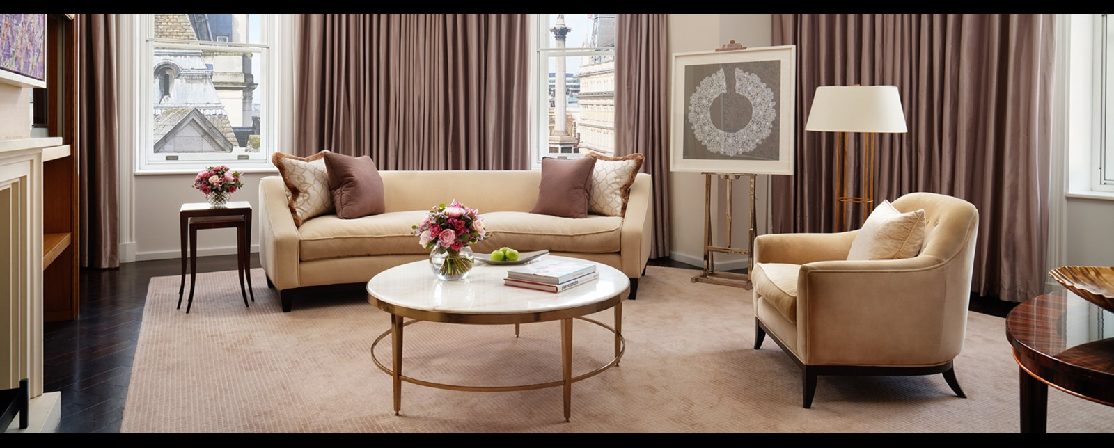 corinthia london trafalgar suite