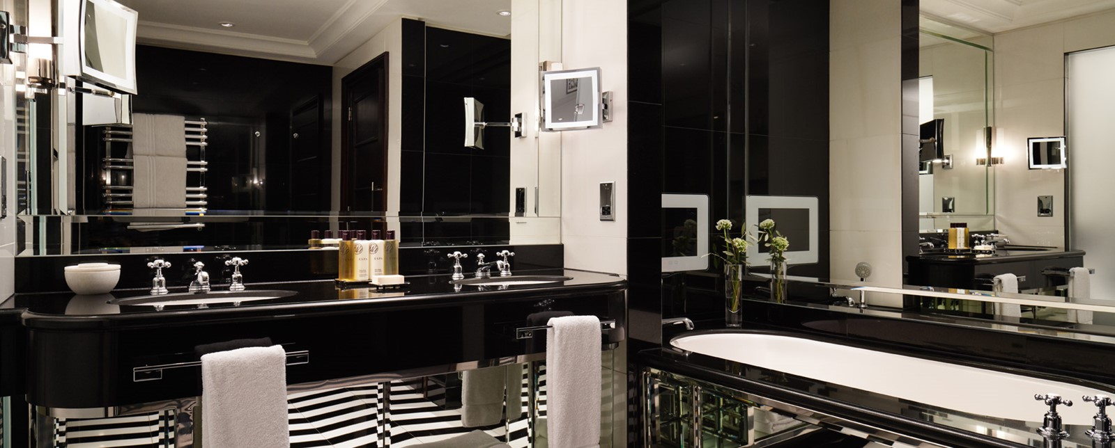 corinthia london actors penthouse bathroom