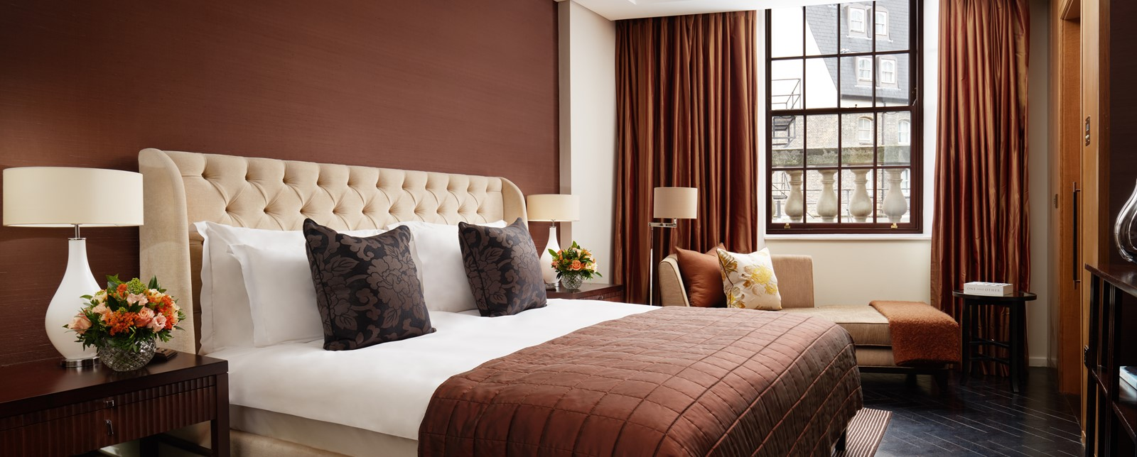 corinthia london whitehall suite bedroom