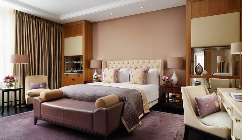 Corinthia London Trafalgar Suite Bedroom