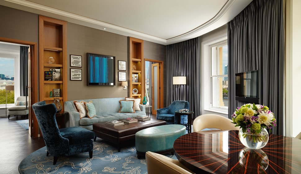 Corinthia London River Suite Living room