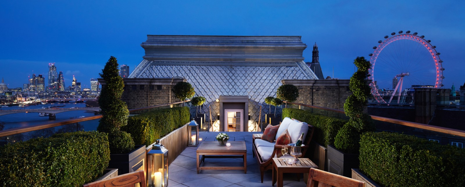 corinthia london musicians penthouse terrace