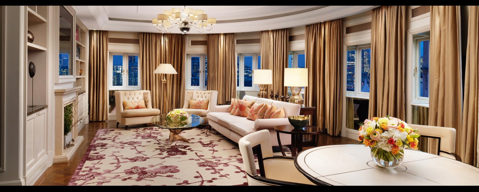 corinthia london royal penthouse living room