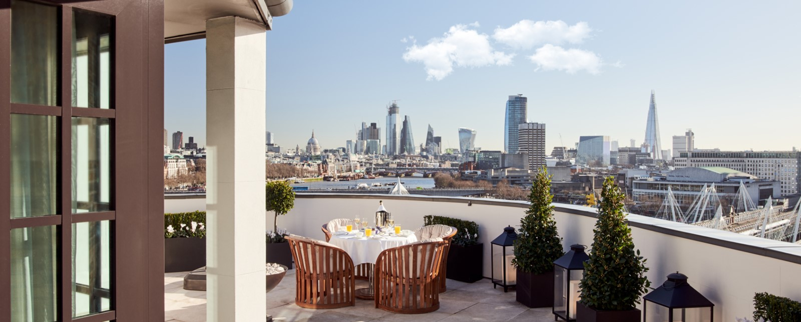 corinthia london royal penthouse terrace 1