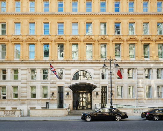 corinthia london exterior entrance