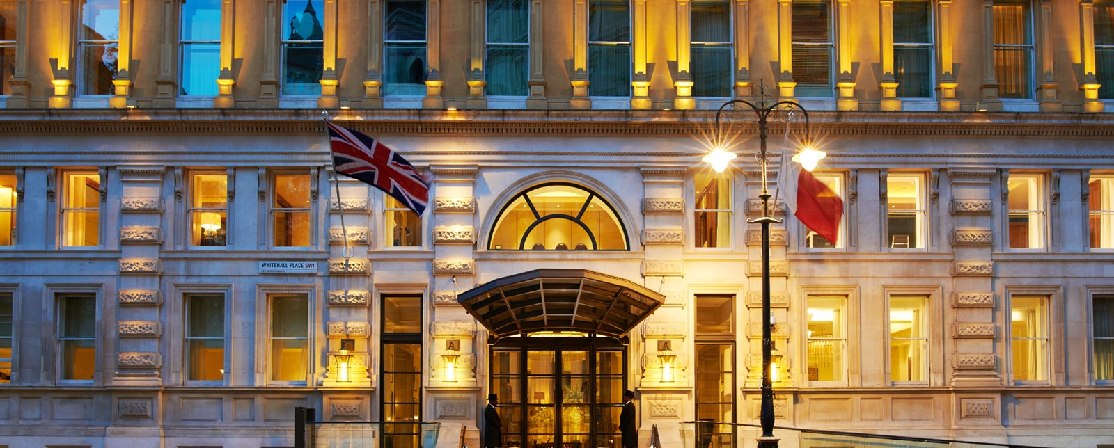 Corinthia London main entrance