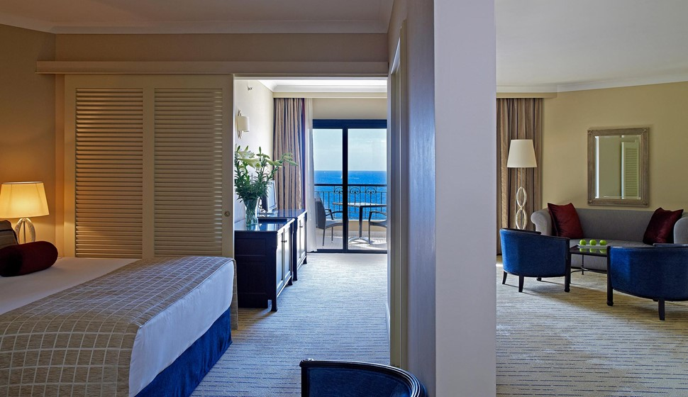 Corinthia St George's bay junior suite