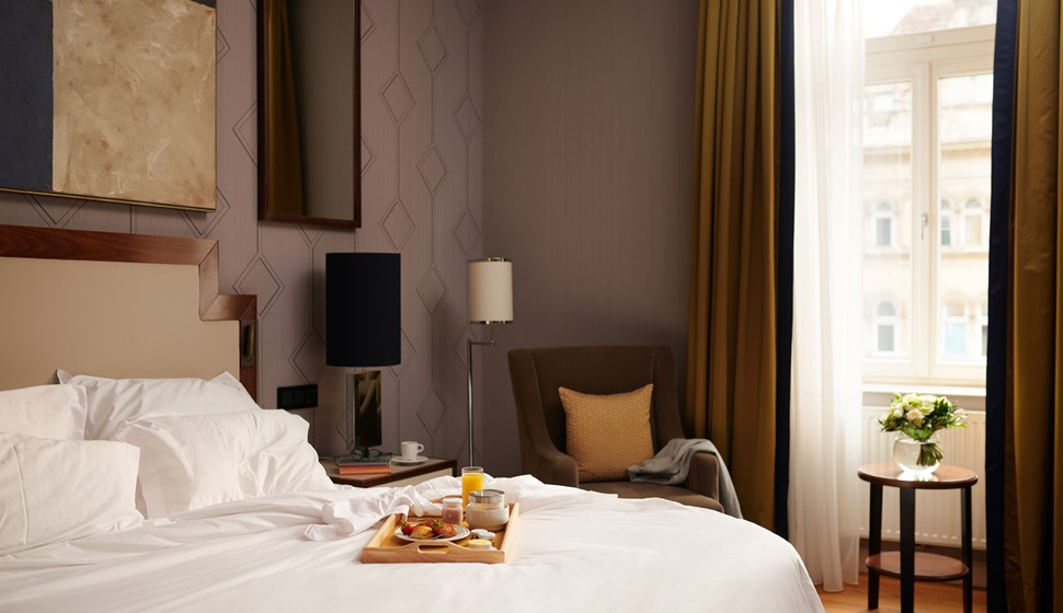 Corinthia Budapest Executive Suite Breakfast