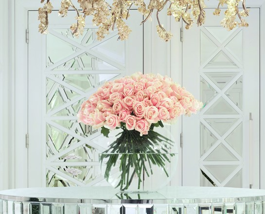 corinthia london hamilton penthouse flowers table