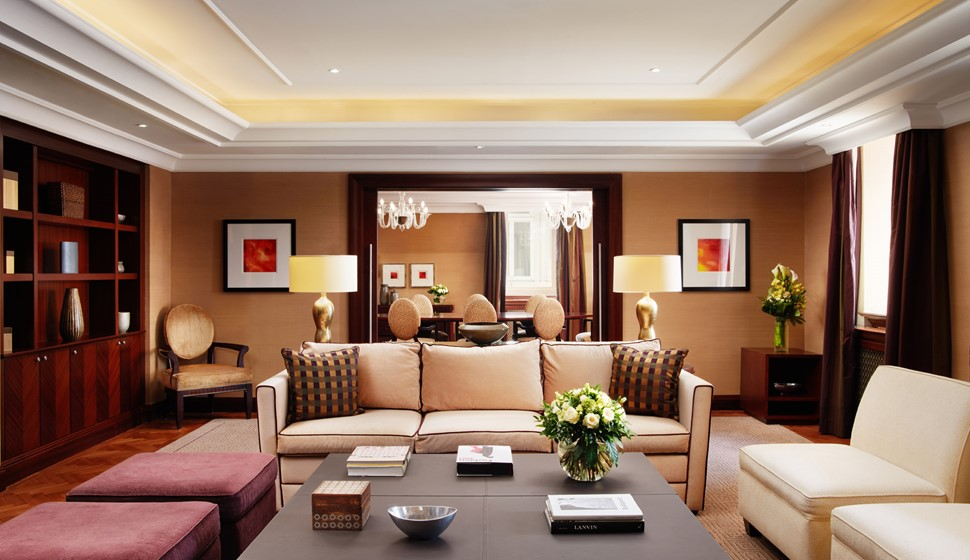 Corinthia Budapest Signature Suite living room
