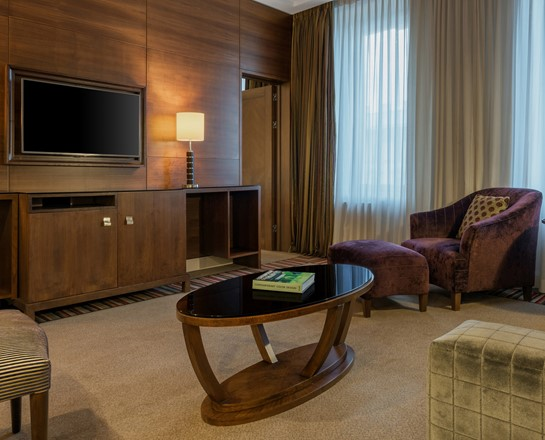 Corinthia St Petersburg Nevsky Suite living room