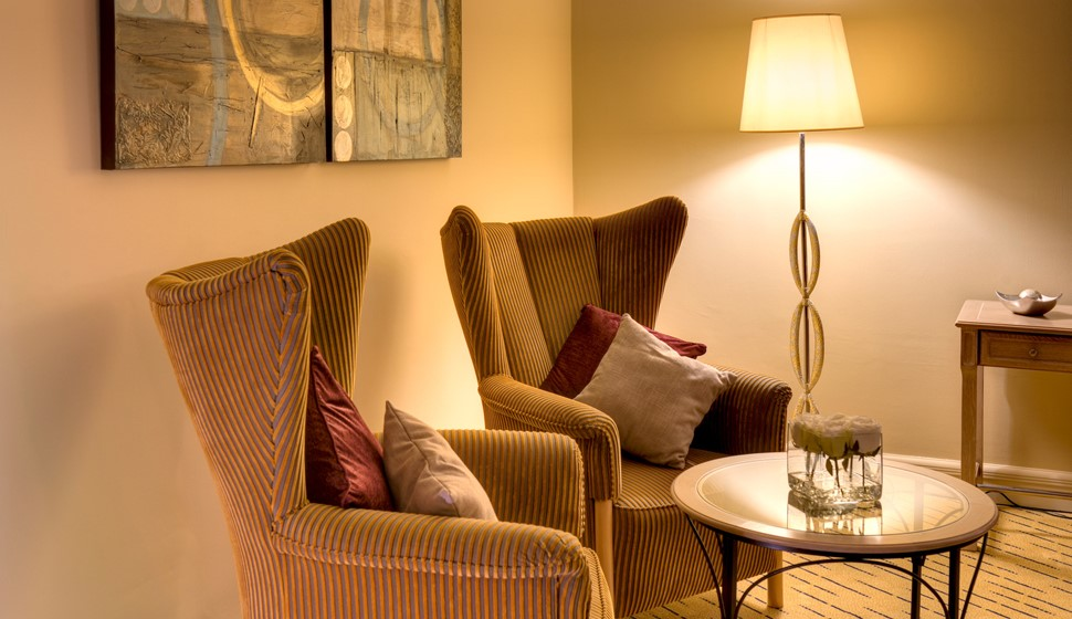 Corinthia St George's bay grand suite lounge