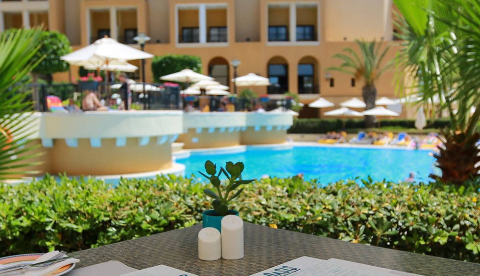 Corinthia St George's Bay Oasis Pool Bar