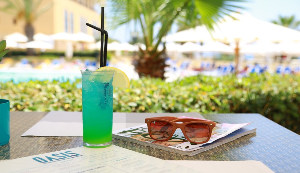 Corinthia St George's Bay Oasis Pool Bar Drinks