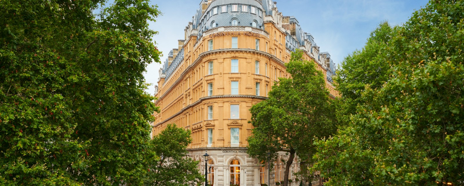 corinthia london exterior sunshine