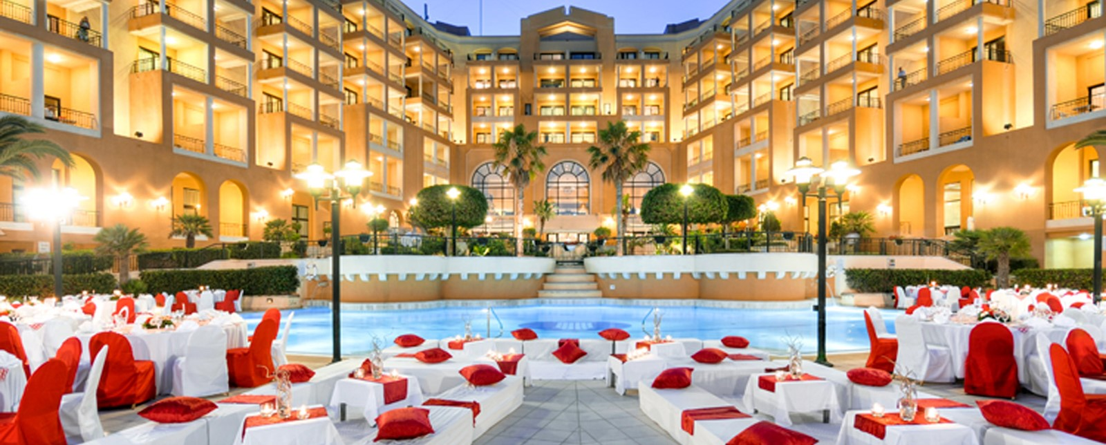 Corinthia St George's Bay outdoors