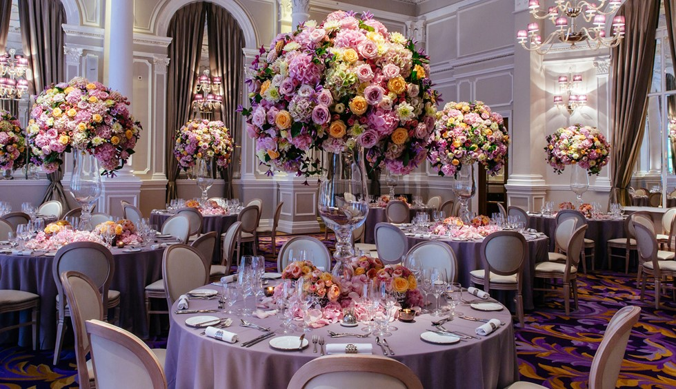 Corinthia London Wedding Ballroom