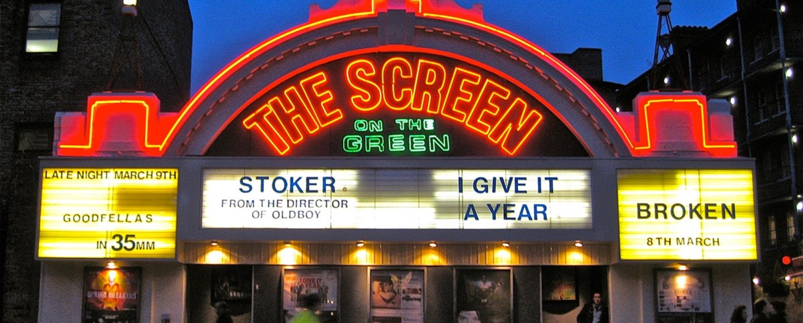 Facade of the Screen on the Green