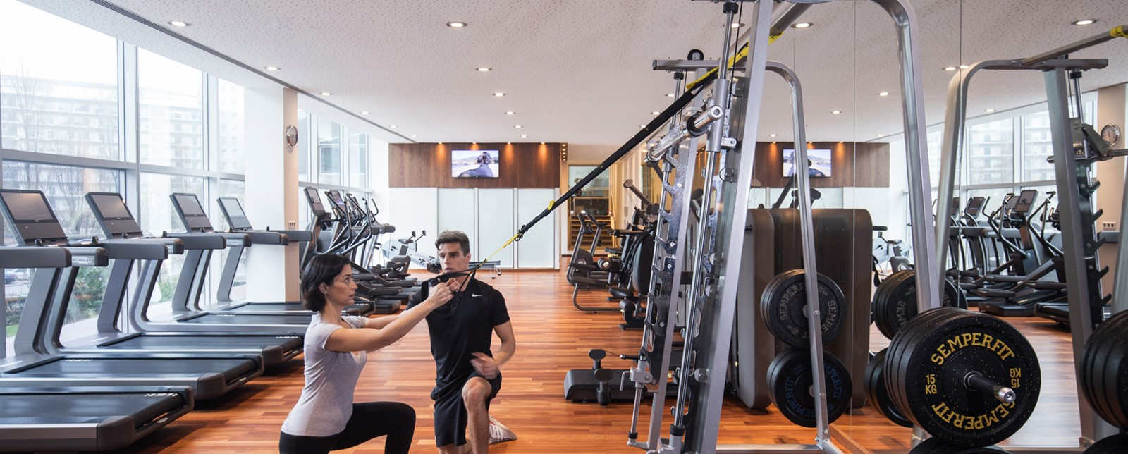 personal trainer do ginásio do corinthia lisbon