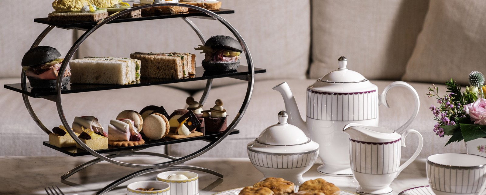 Corinthia Palace Afternoon tea