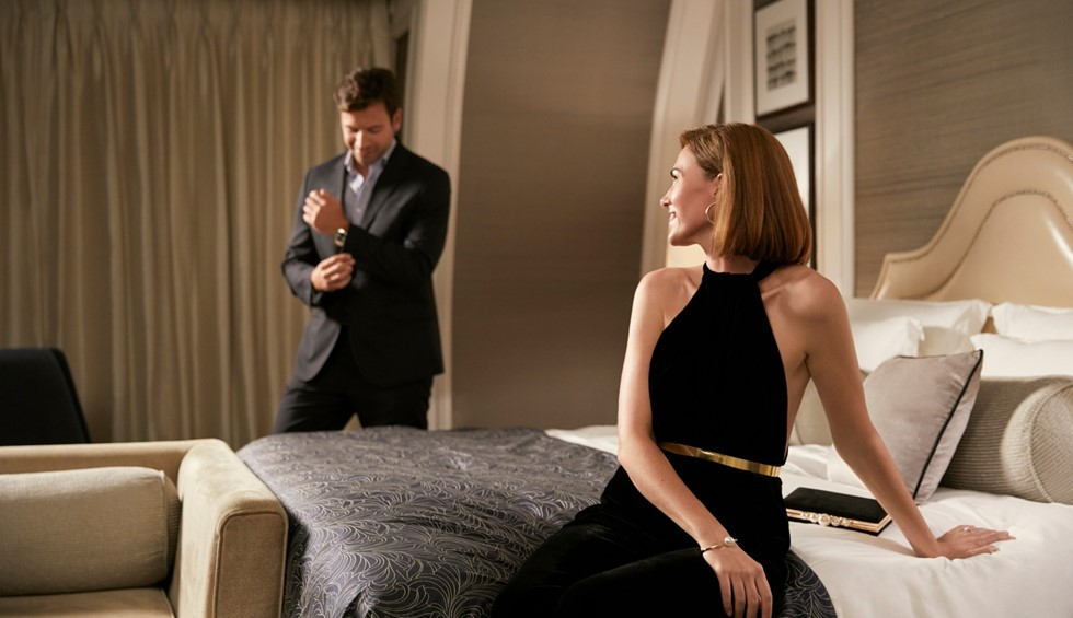 corinthia london couple in penthouse