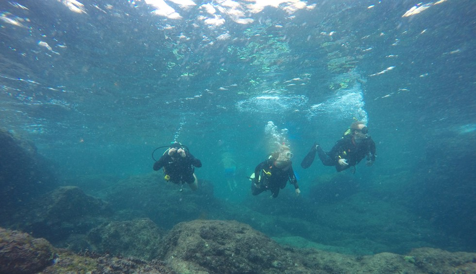 scuba diving group