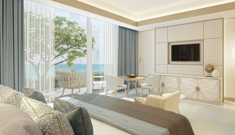 corinthia meydan beach dubai podium superior room