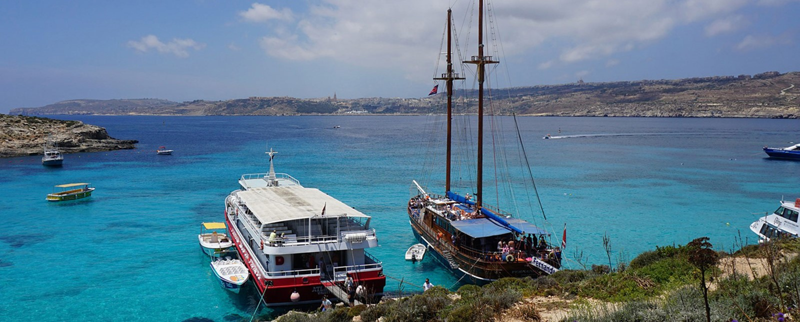 Your Guide To The Blue Lagoon In Malta Corinthia St