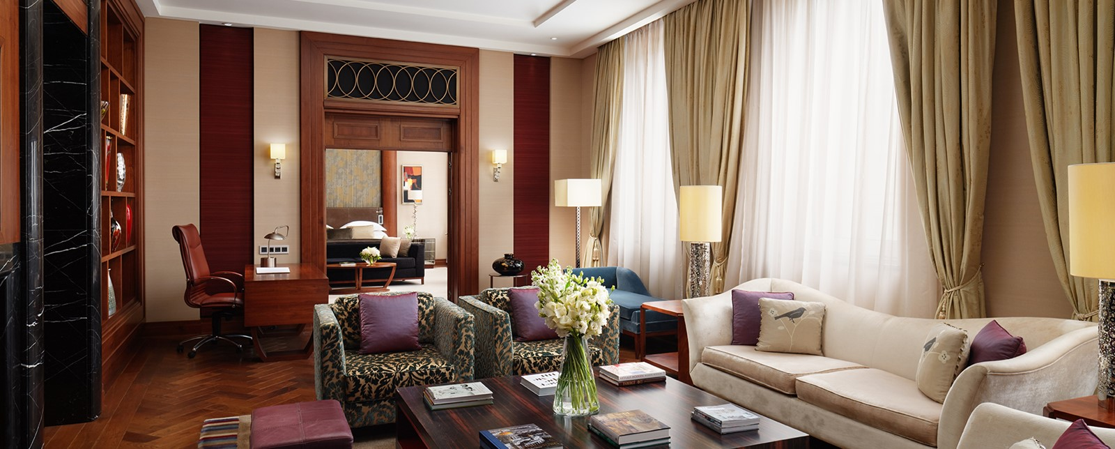 Corinthia St Petersburg Royal Suite living room