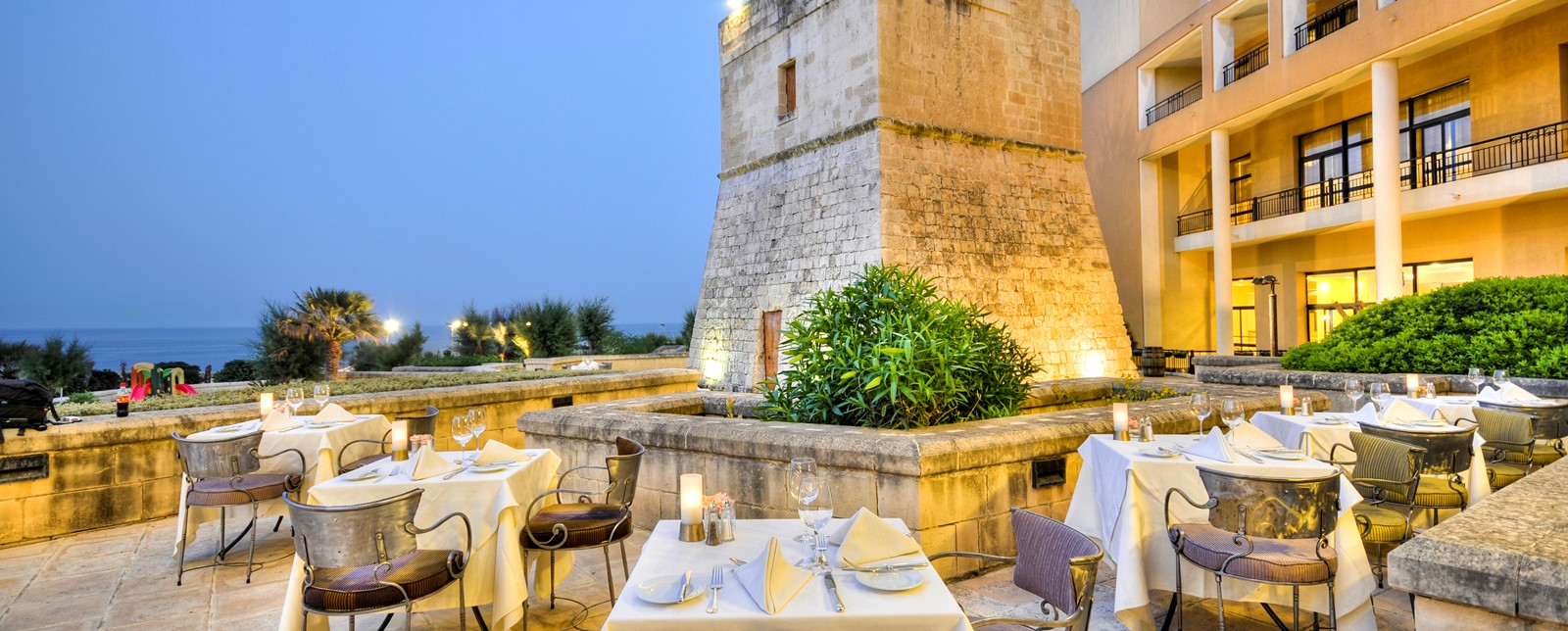 La Piazza  Outdoor Venue Malta