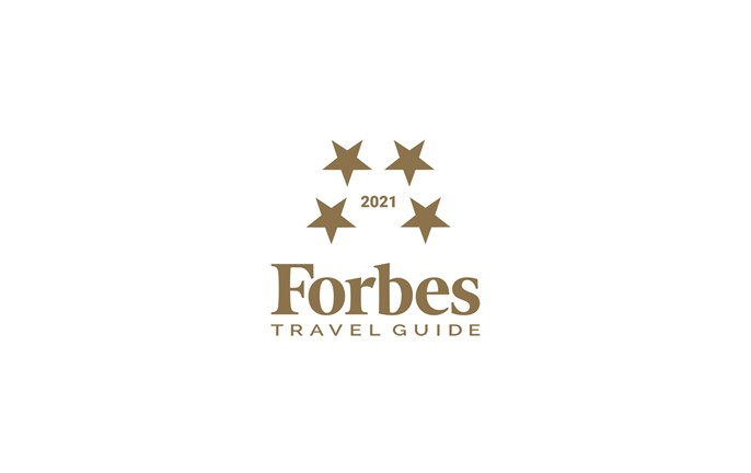 forbes travel guide award logo